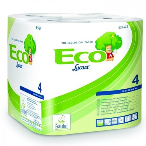 ESSUIE TOUT 2 PLIS ECOLABEL BLANC /12  PAQUETS DE 4 (Ecolabel)