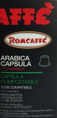 Capsule arabica compatible